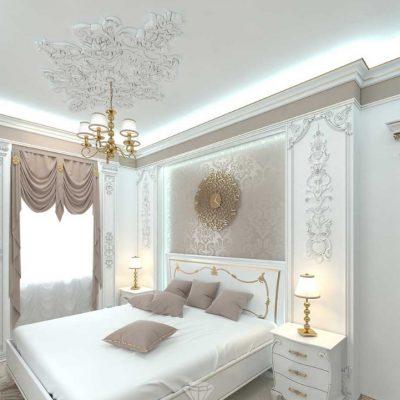Светлый потолок