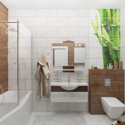 Фотоинтерьер ванной