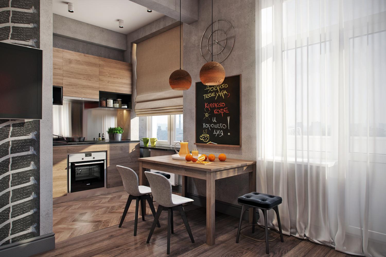ведь стиль лофт в квартире на кухне фото жанра характерно грязное
