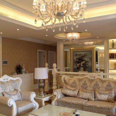 Красивый зал барокко