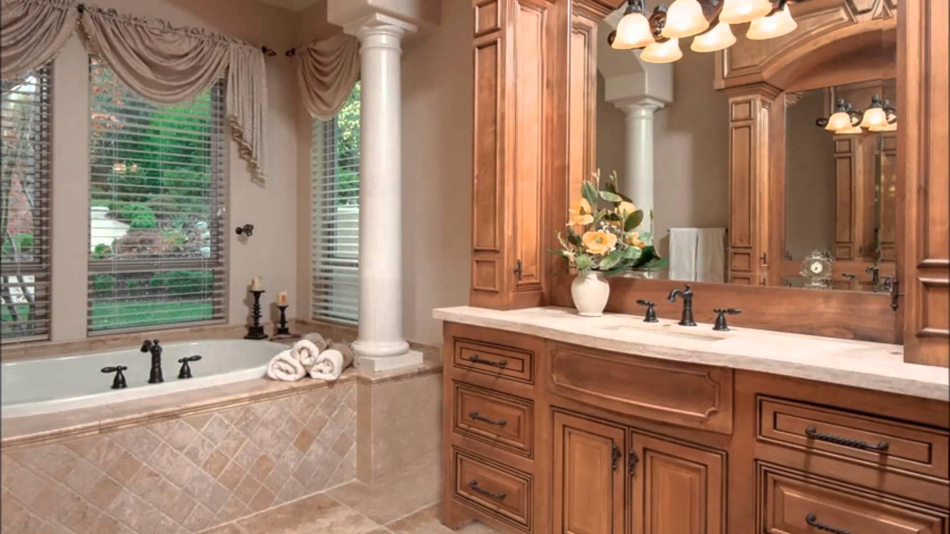 Шкафы в интерьере ванной