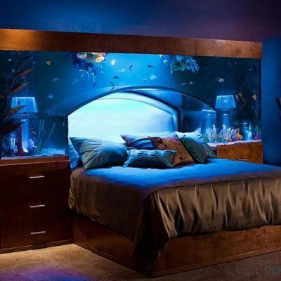 Супер аквариум в спаль не