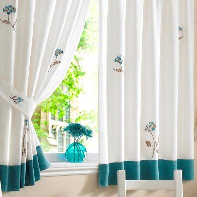 Короткие шторы самодельные