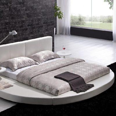 Кровать в спальнню круглой формы