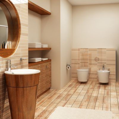 Интерьер комнаты ванной