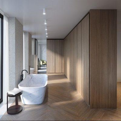 Вертикальная ванная