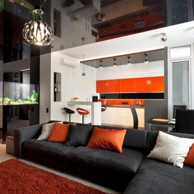 Оранжевый хай тек