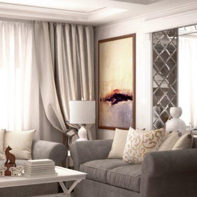 Семейная гостиная комната
