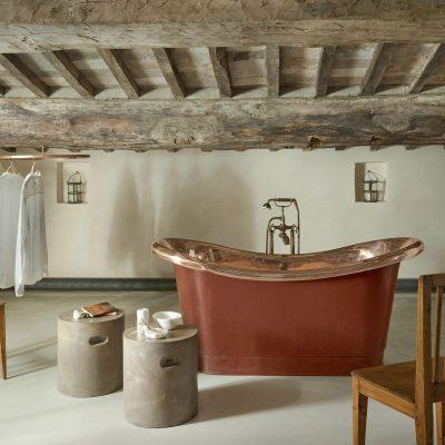 Необчная ванная в интерьере