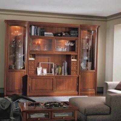 Современная гостиная и шкаф