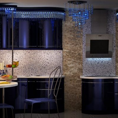 Красивый цвет кухни