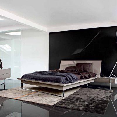 Спальня в темном цвете