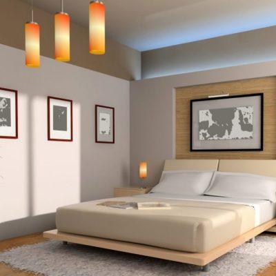 Картины в спальне