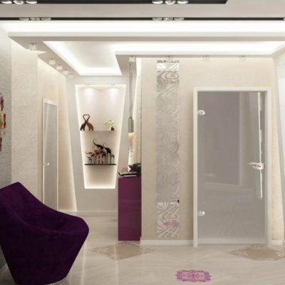 Фиолетовый комод