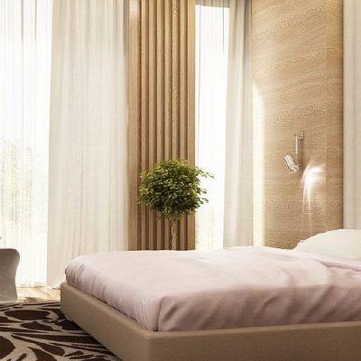 Правила фен шуя расположения кровати в спальне на фото примере