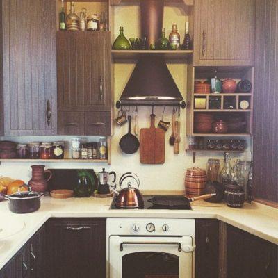 Русская кухня в интерьере на фото примере