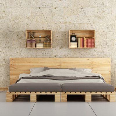 Классическое бра в гарнитуре спальни