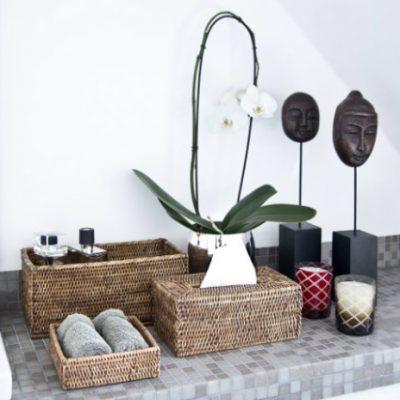 Элементы декора ванной