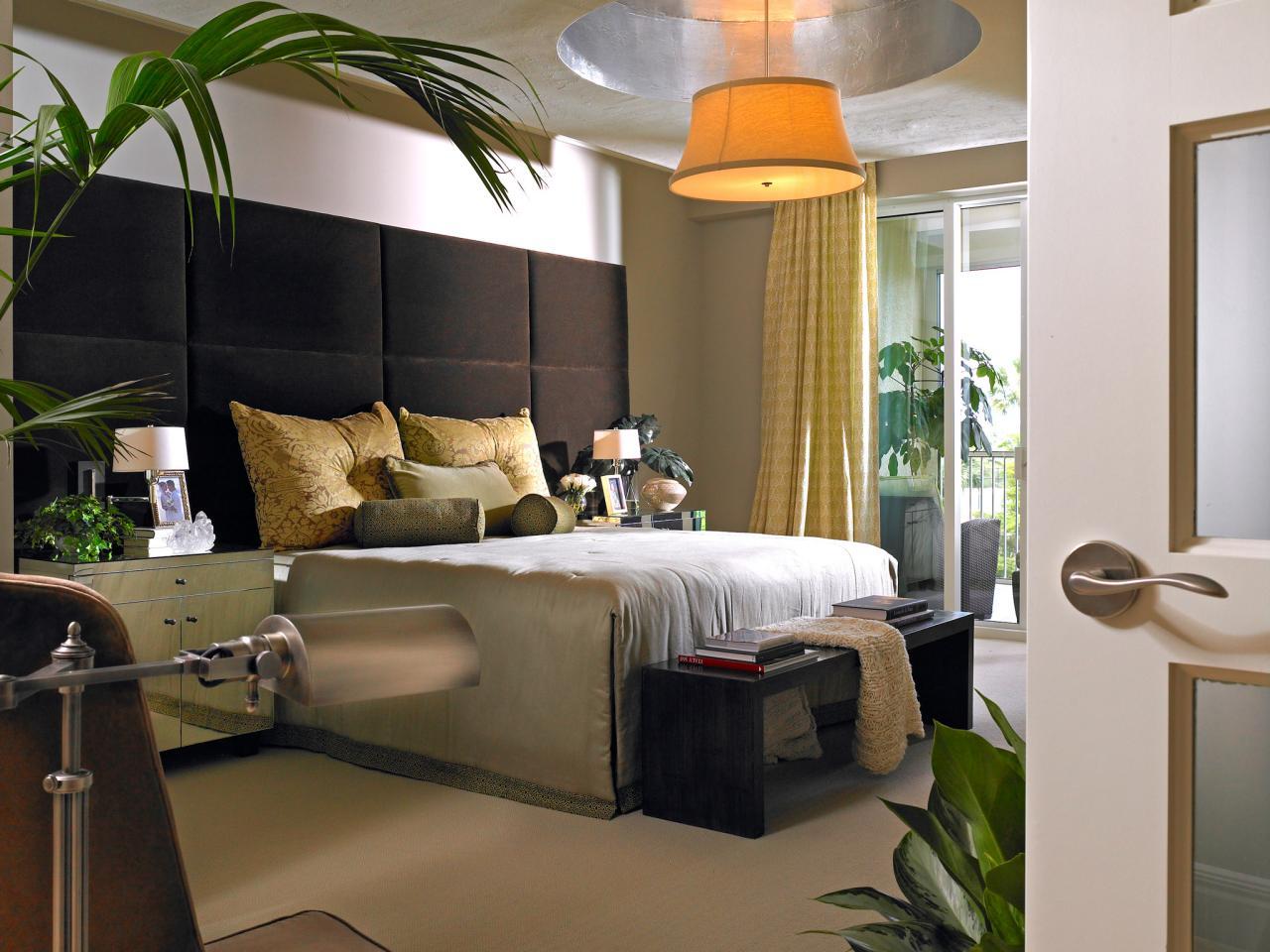 Использование растений для декорирования спальни
