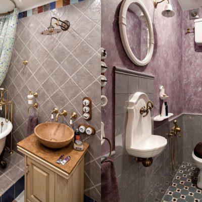 Туалет в ванной