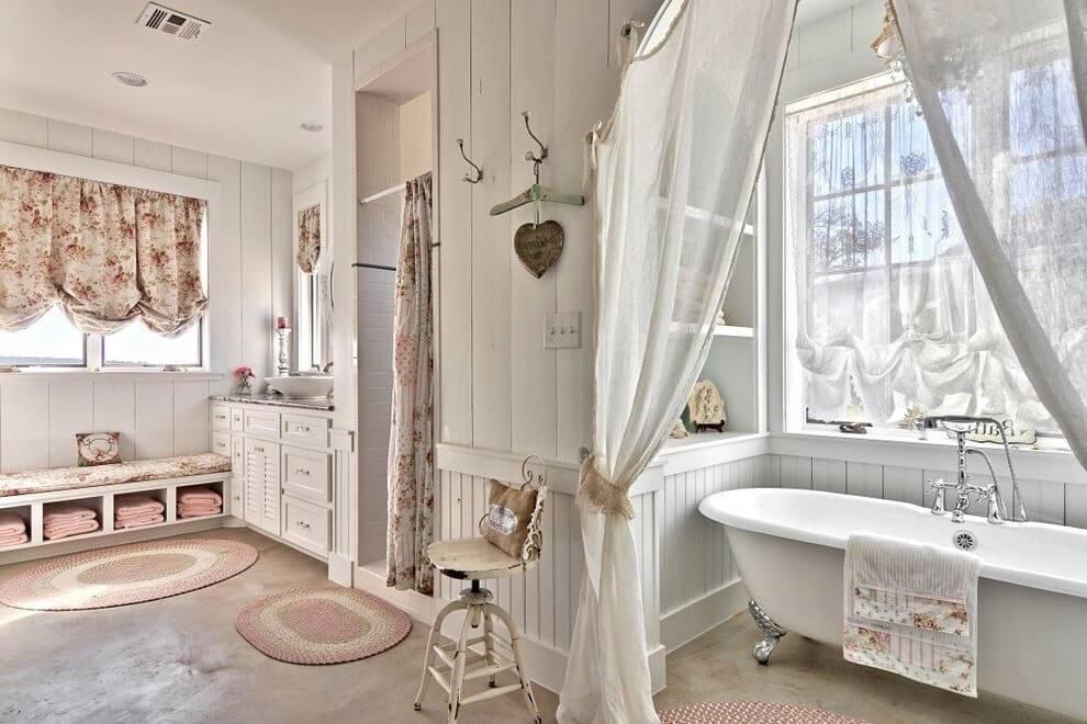 Романтика ванной в провансе