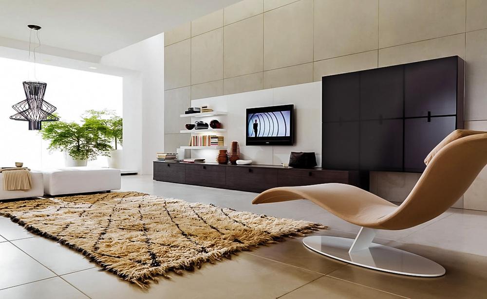Комната в стиле хай-тек - решение для динамичных и креативных людей