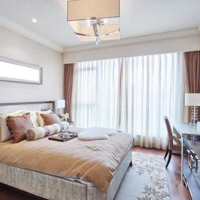 Спальня средних размеров