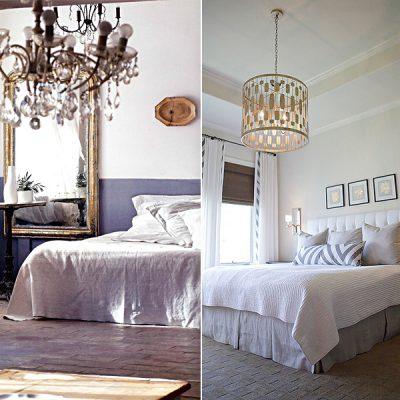 Люстрыв спальне