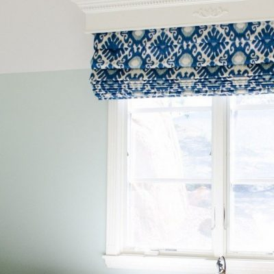 Пример штор под интерьер спальни