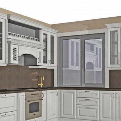 Дизайн модели кухни
