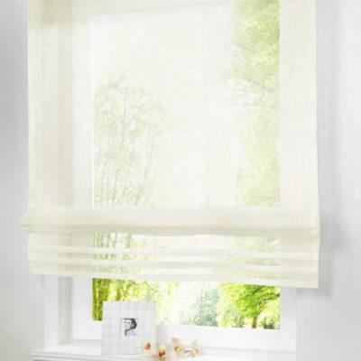 Нежные шторы в интерьере