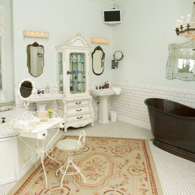 Ванная комната в стиле прованс