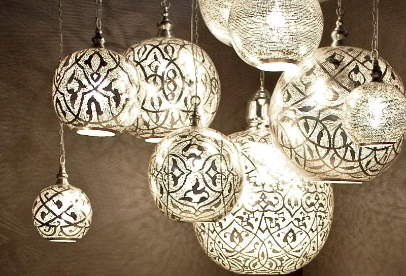 Арабские светильники