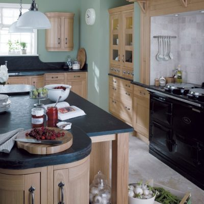 Кухня углового типа