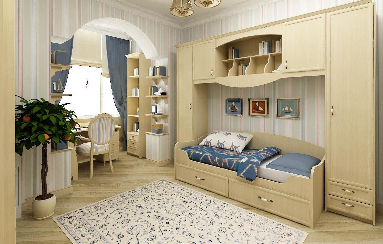 Несмотря на то, что провансу чаще всего отдают предпочтение при создании интерьера комнаты девочки, в этом стиле можно также сделать детскую для мальчика
