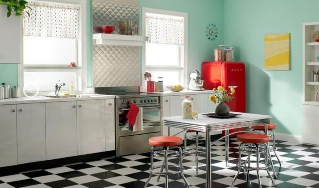 Кухня в стиле ретро: от классики до экстравагантности