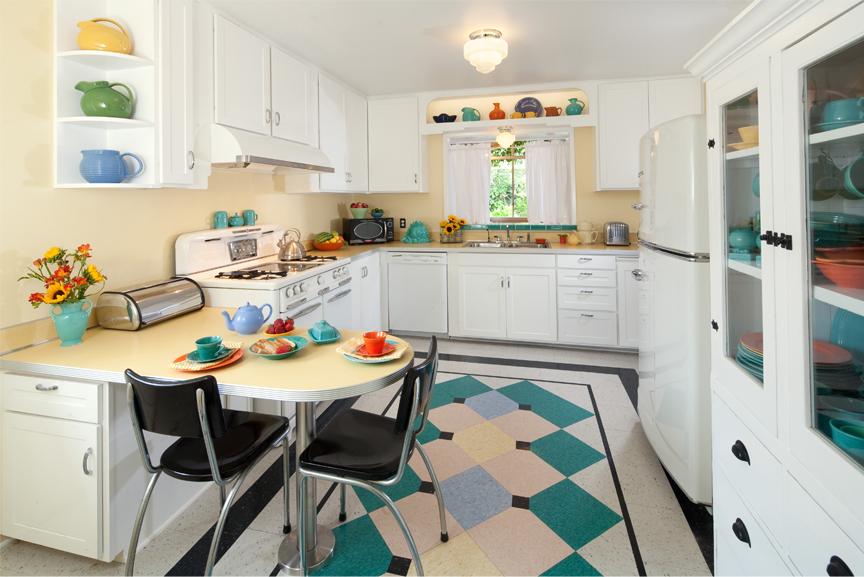 Кухня в стиле 40-х