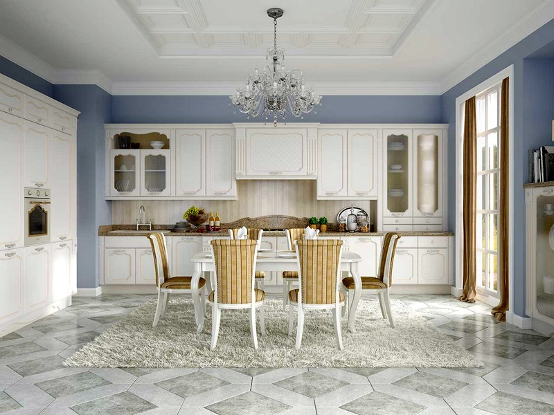 Уют и шарм кухни во французском стиле