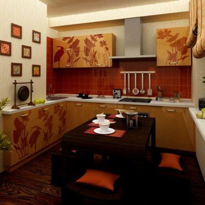 кухонная мебель в восточном стиле