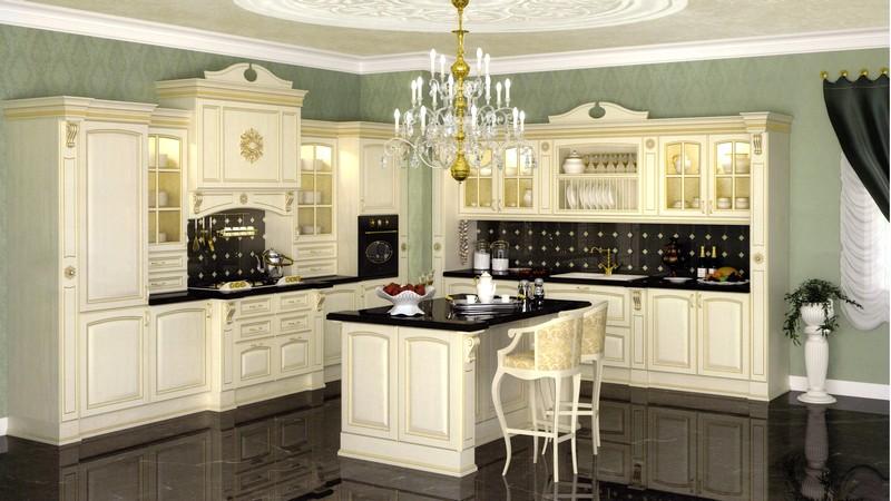 кухонная мебель во французском стиле