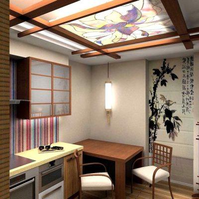 кухонный дизайн в китайском стиле