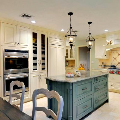 кухонный интерьер в стиле кантри
