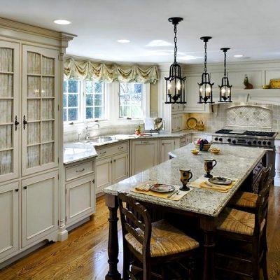 кухонный интерьер во французском стиле