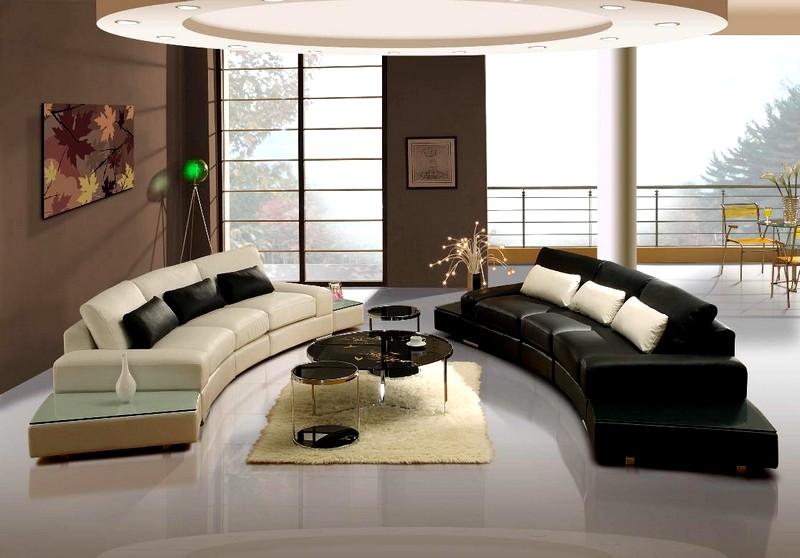 Мебель для гостиной в стиле модерн: основные черты стиля
