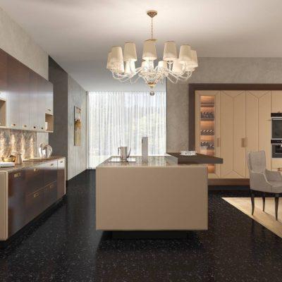 Модерн и классика на кухне