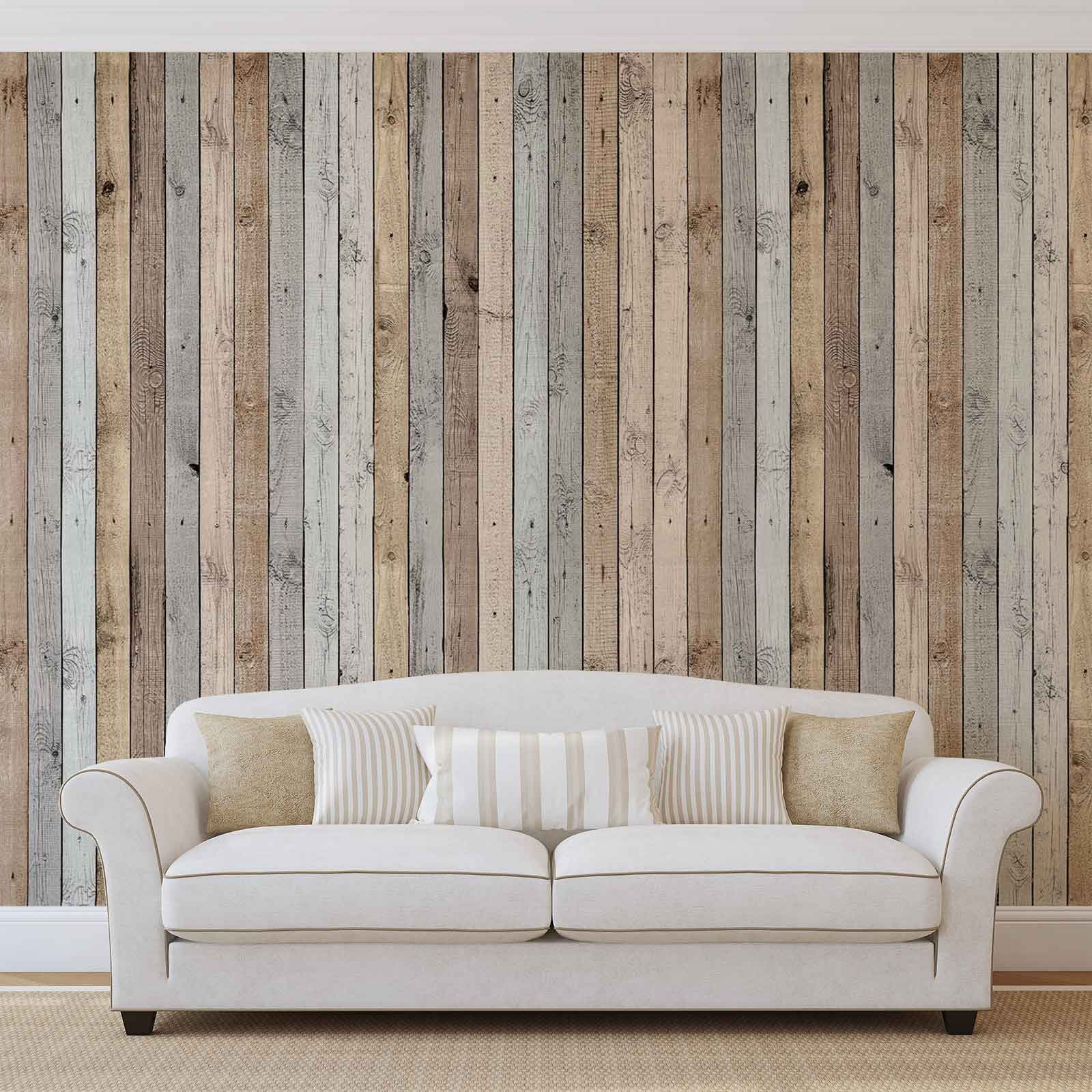 Покрытия, имитирующие натуральные материалы, станут прекрасной альтернативой при отделке квартиры в стиле порванс