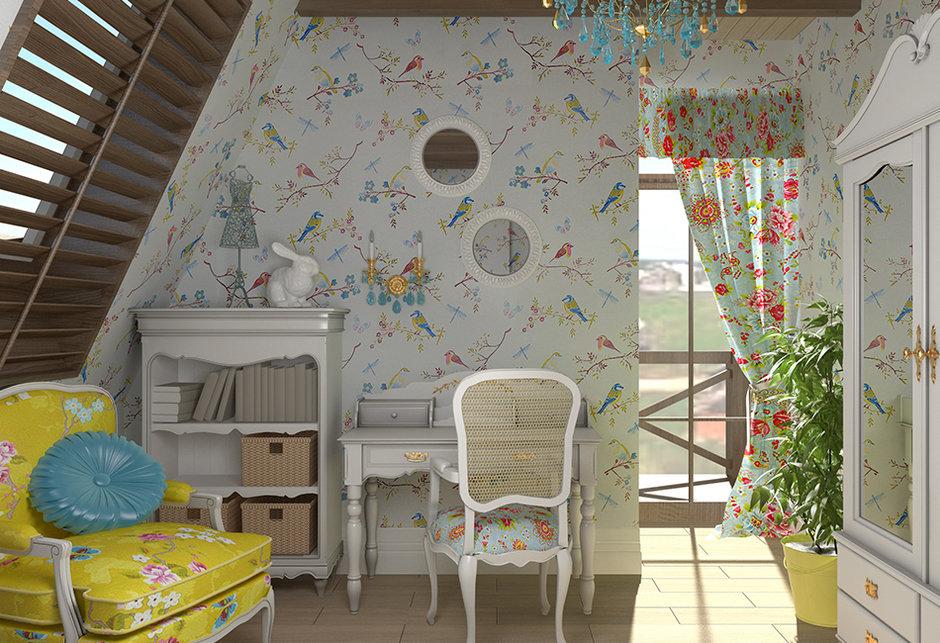 Французский стиль прованс идеально подходит для тех, кто любит романтичные интерьеры