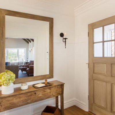 Зеркало вч деревянной оправе