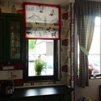 римские шторы с фотопечатью