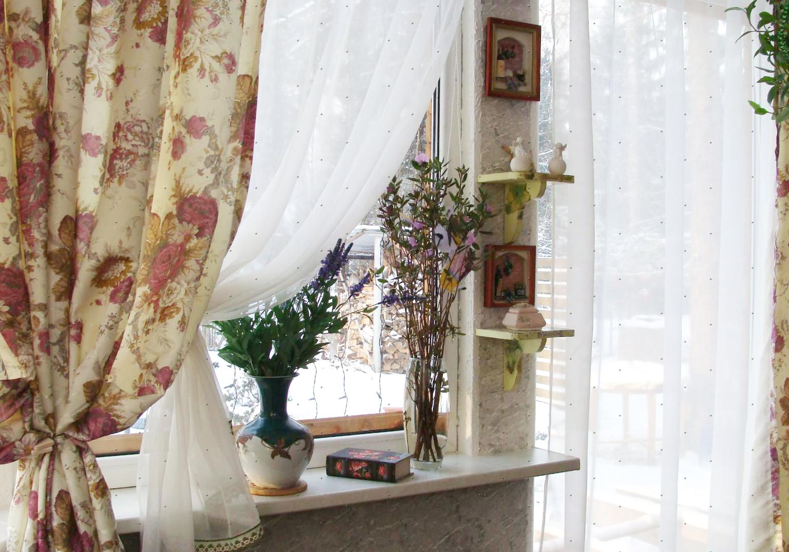 шторы в стиле кантри прованс фото перечислил его преимущества